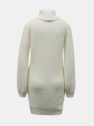 Krémové svetrové šaty Miss Selfridge Petites