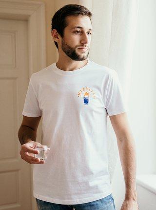 Bílé pánské tričko ZOOT Original Maršááál