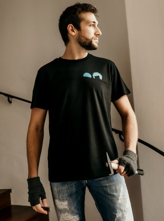 Černé pánské tričko ZOOT Original Mokrý banditi