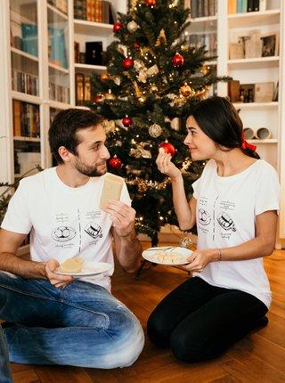 Bílé dámské tričko ZOOT Original Knedlík vs. nok