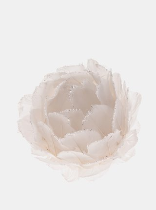 Biela závesná kvetina Dakls