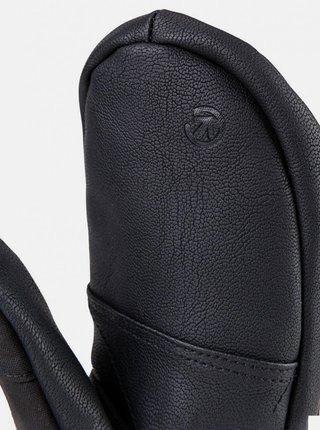 Čierne dámske vodeodolné rukavice Meatfly Manson