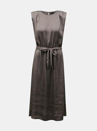 Šaty ve stříbrné barvě Dorothy Perkins