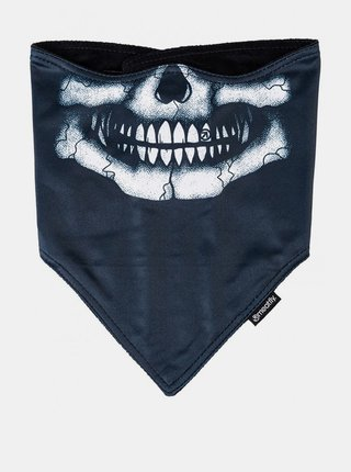 Černý zimní voděodolný šátek Meatfly Frosty