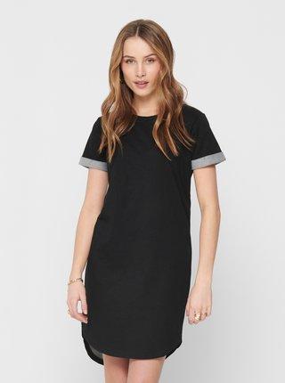 Černé mikinové šaty Jacqueline de Yong