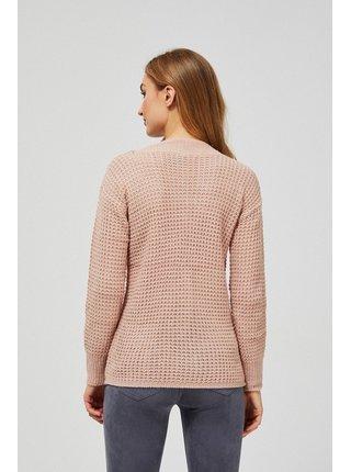 Moodo ružový sveter