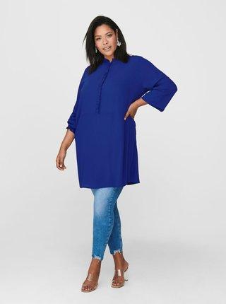 Modré šaty ONLY CARMAKOMA Radavana