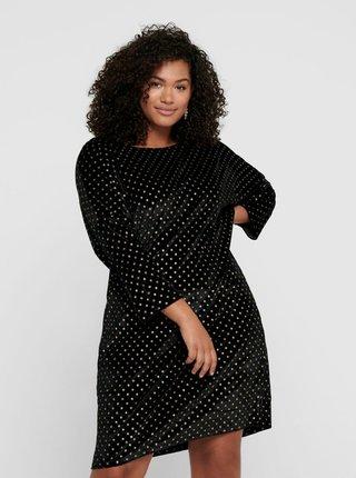 Černé společenské šaty ONLY CARMAKOMA Elinora