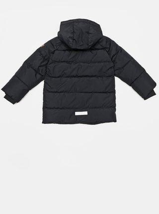 Čierna dievčenská zimná bunda name it