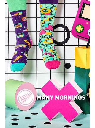 Many Mornings barevné ponožky Back to the 90's