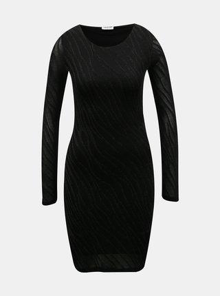 Černé pouzdrové šaty Noisy May