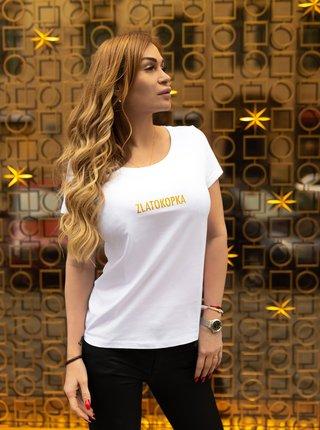 Bílé dámské tričko ZOOT Original Zlatokopka
