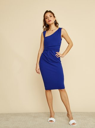 Modré púzdrové šaty ZOOT