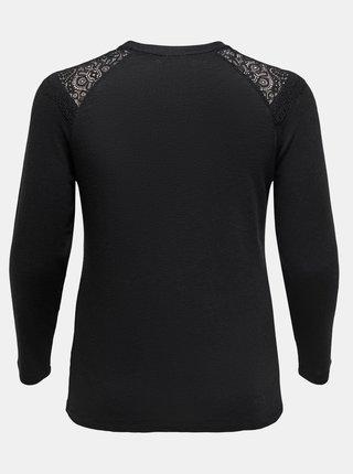 Čierne tričko ONLY CARMAKOMA Hanna