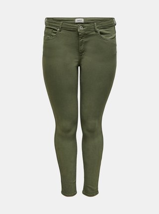 Khaki kalhoty ONLY CARMAKOMA Jenny
