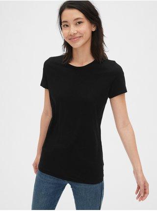 Černé dámské tričko GAP Vintage