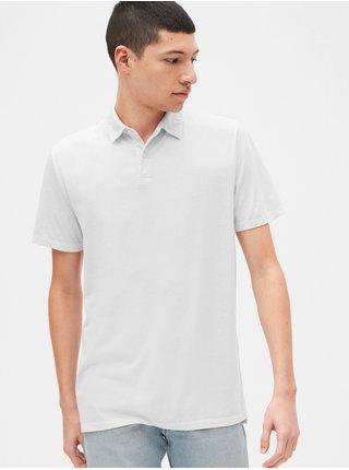 Polo tričko GAP Vintage Biela