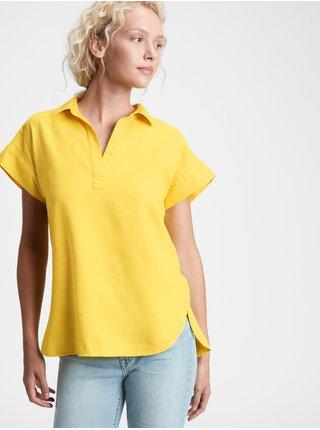 Žluté dámské tričko GAP