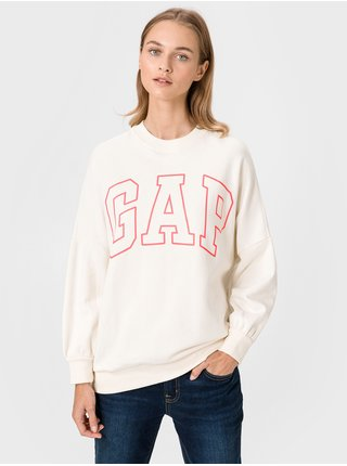 Béžová dámská mikina GAP Logo