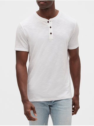 Biele pánske tričko GAP