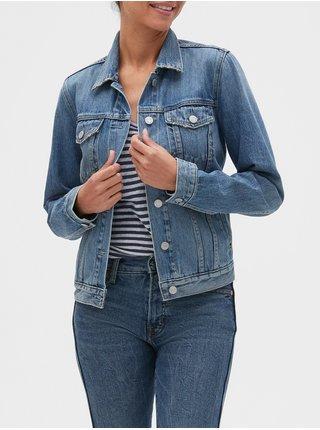 Modrá dámska rifľová bunda GAP