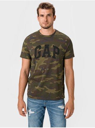 Čierne pánske tričko GAP Logo Basic