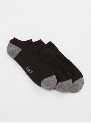Čierne pánske ponožky GAP 3-Pack