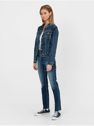Modrá dámská džínová bunda GAP