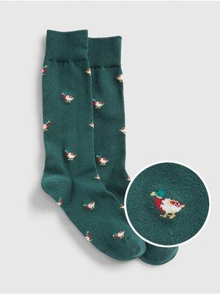 Zelené pánske ponožky GAP