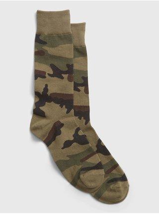 Hnědé pánské ponožky GAP