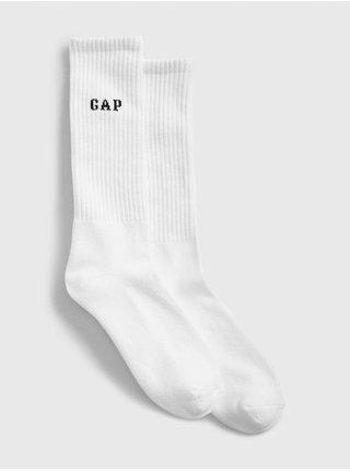 Biele pánske ponožky GAP