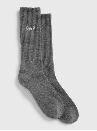 Šedé pánske ponožky GAP