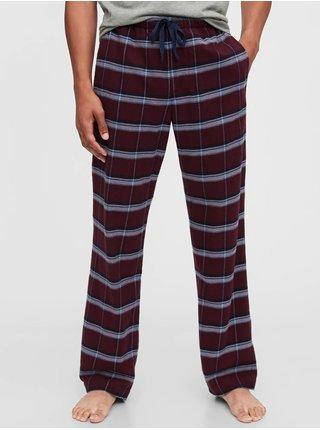 Červené pánske pyžamové nohavice GAP
