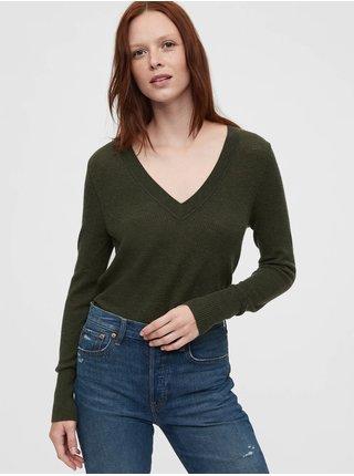 Zelený dámsky sveter GAP