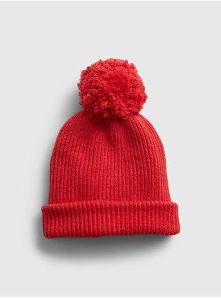 Červená dámska čiapka GAP
