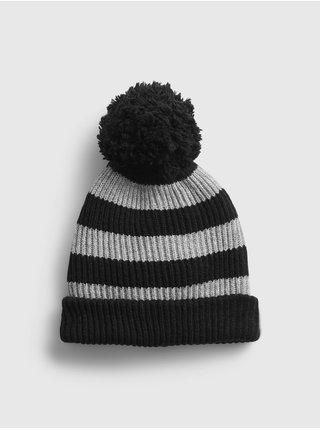 Černá dámská čepice GAP