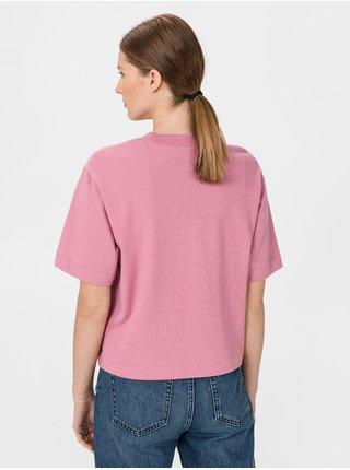 Růžové dámské tričko GAP Logo
