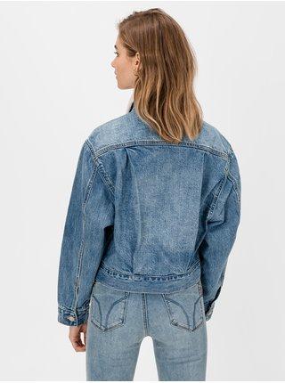 Modrá dámská bunda GAP