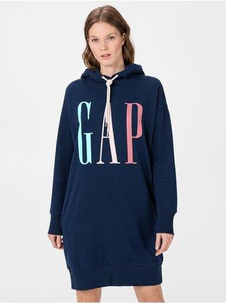 Šaty GAP Logo Modrá