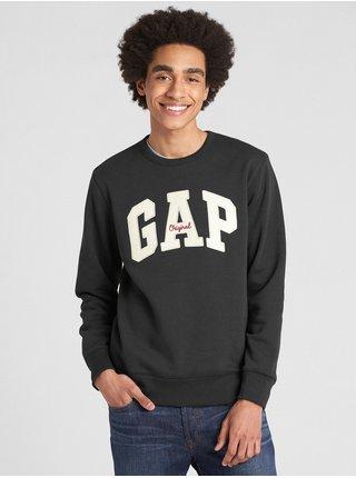 Černá pánská mikina GAP Logo