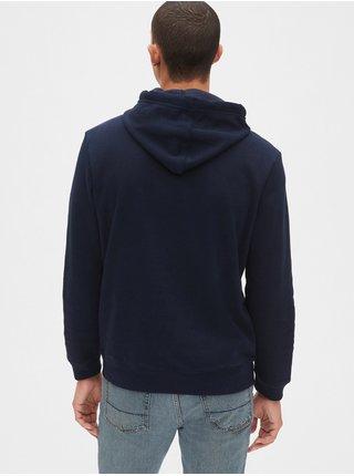 Mikina GAP Hoodie Logo Tmavo modrá