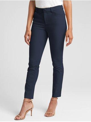 Modré dámské kalhoty GAP Skinny Bi-Stretch