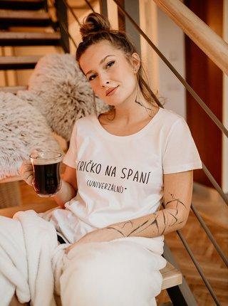 Bílé dámské tričko ZOOT Original Tričko na spaní