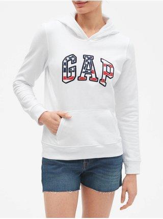 Bílá dámská mikina GAP Logo