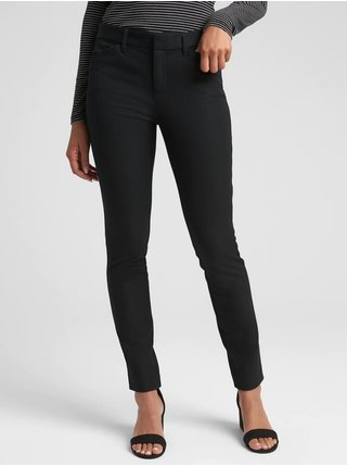 Nohavice GAP Skinny Čierna