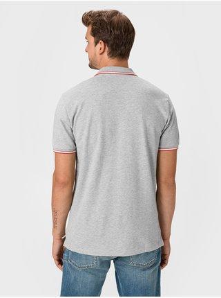 Šedé pánské polo tričko GAP Logo