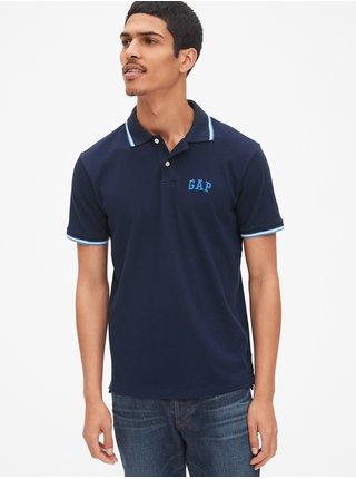 Tmavě modré pánské polo tričko GAP Logo