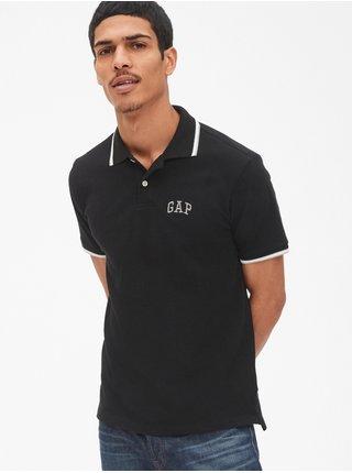 Černé pánské polo tričko GAP Logo