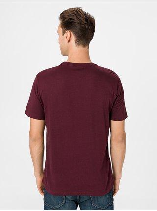 Vínové pánské tričko GAP Logo