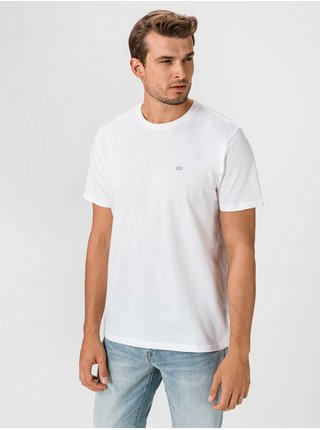 Biele pánske tričko GAP Logo 2-Pack